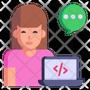 Web Programmer Icon