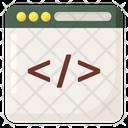 Web Programming Html Coding Software Development Icon