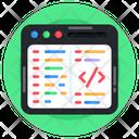 Software Development Code Optimization Web Design Icon