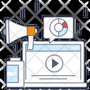 Digital Marketing Online Publicity Web Marketing Icon