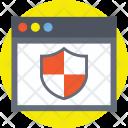 Web Protection Internet Icon
