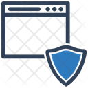 Web Page Web Protection Secure Icon