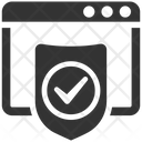 Browser Protection Anti Virus Icon