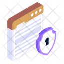 Web Safety Web Protection Web Security Icon