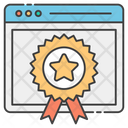 Web Quality Web Certificate Popular Web Icon