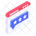 Ranking Message Feedback Chat Web Ratings Icon