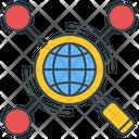 Web Research Icon
