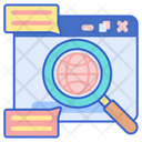 Web Research Global Research Seo Icon