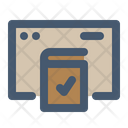 Untact Booking Reserve Icon