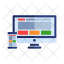 Web responsive device Icon