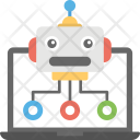 Web Robot Database Icon