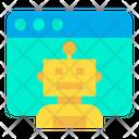 Web Robot Icon
