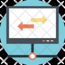 Web Routing Icon