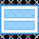 Web Rows Icon
