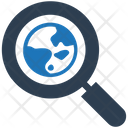 Global Magnifier Search Icon