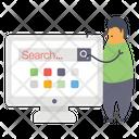 Web Search Search Bar Search Engine Icon