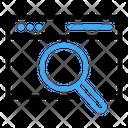 Seo Search Magnifier Icon