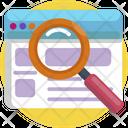 Creative Design Search Magnifier Icon