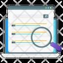 Web Search Icon