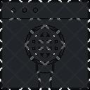 Symbol Background Optical Icon