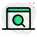 Web Search Search Engine Optimization Online Search Icon