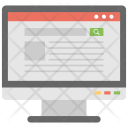 Web Search Internet Icon