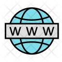 Web Search Url Icon