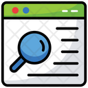 Web Searching Seo User Interface Icon