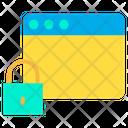 Web Lock Web Secure Web Icon