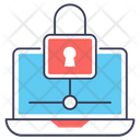 Web Lock Browser Lock Network Security Icon