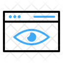 Security Web Eye Icon