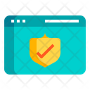Isecurity Web Security Secure Browsing Icon