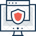 Security Cyber Shield Icon