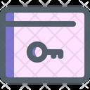 Password Security Web Icon