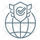 Web Security Protection Shield Icon