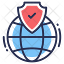 Web Security Internet Global Icon