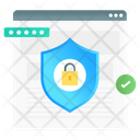 Secure Login Web Safety Web Login Icon
