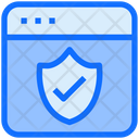 Web Security Data Security Icon