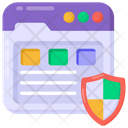 Web Interface Web Security Web Protection Icon
