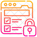 Web Security Website Protection Icon