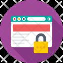 Web Security Lock Icon