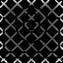 Web Security Shield Icon