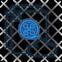 Web Series Ott Media Streaming Icon
