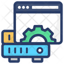 Shared Web Hosting Web Server Shared Server Icon
