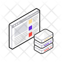 Shared Server Web Server Database Server Icon