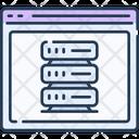 Web Server Server Data Storage Icon