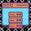 Iweb Server Web Server Web Database Icon
