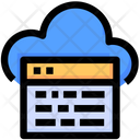 Seo Website Cloud Icon