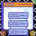 Web Server Web Storage Datacenter Icon