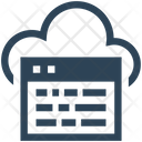 Website Cloud Browser Icon